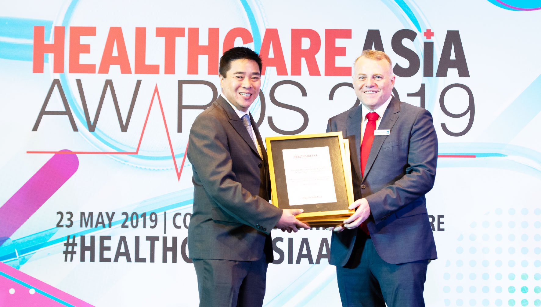 Heatlthcare Asia Award 2019