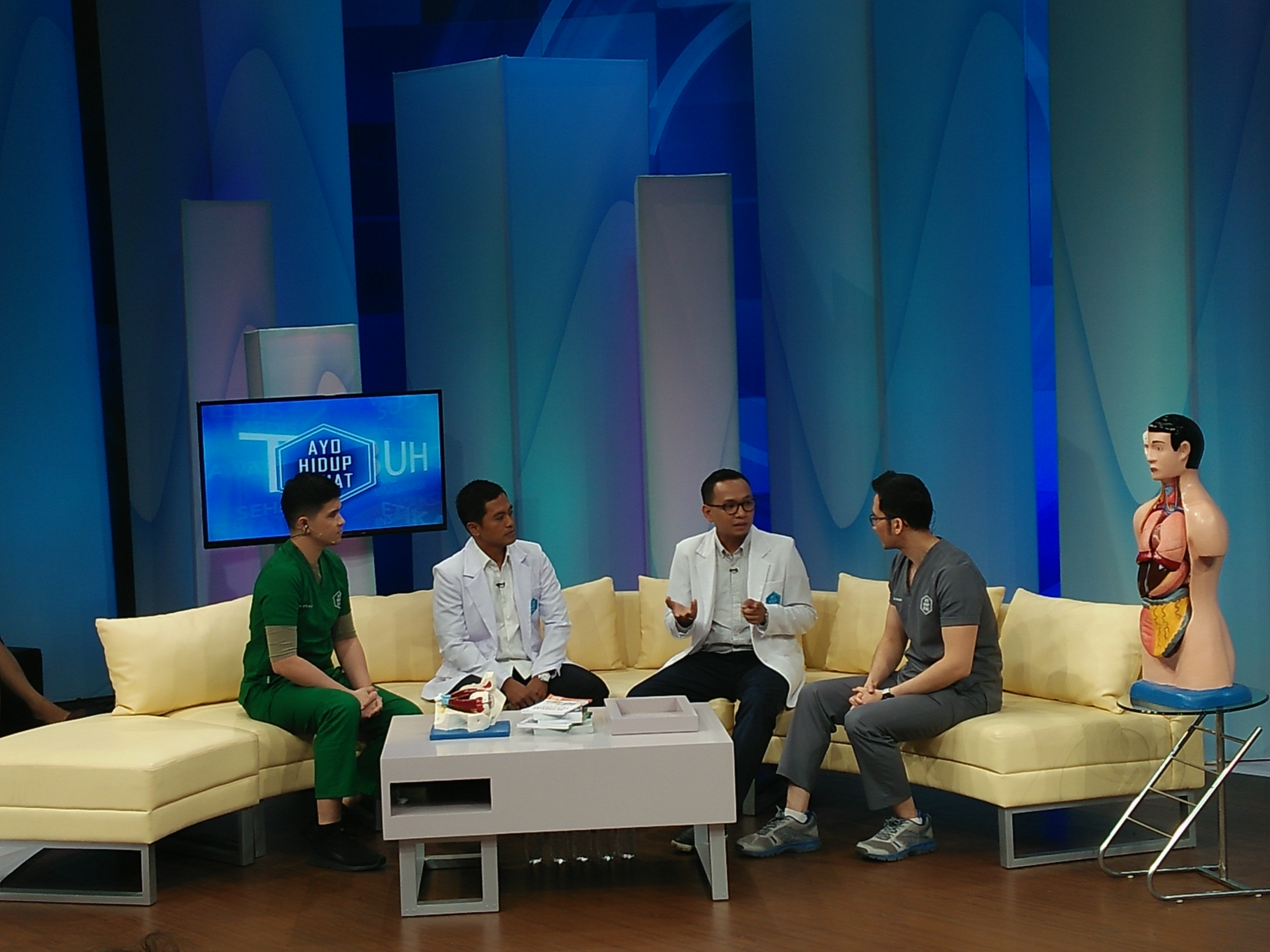 "OMNI Hospitals Pulomas Live Talk Show ""Ayo Hidup Sehat"" TV One"