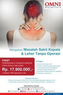 Promo Head and Neck Pain Syndrome